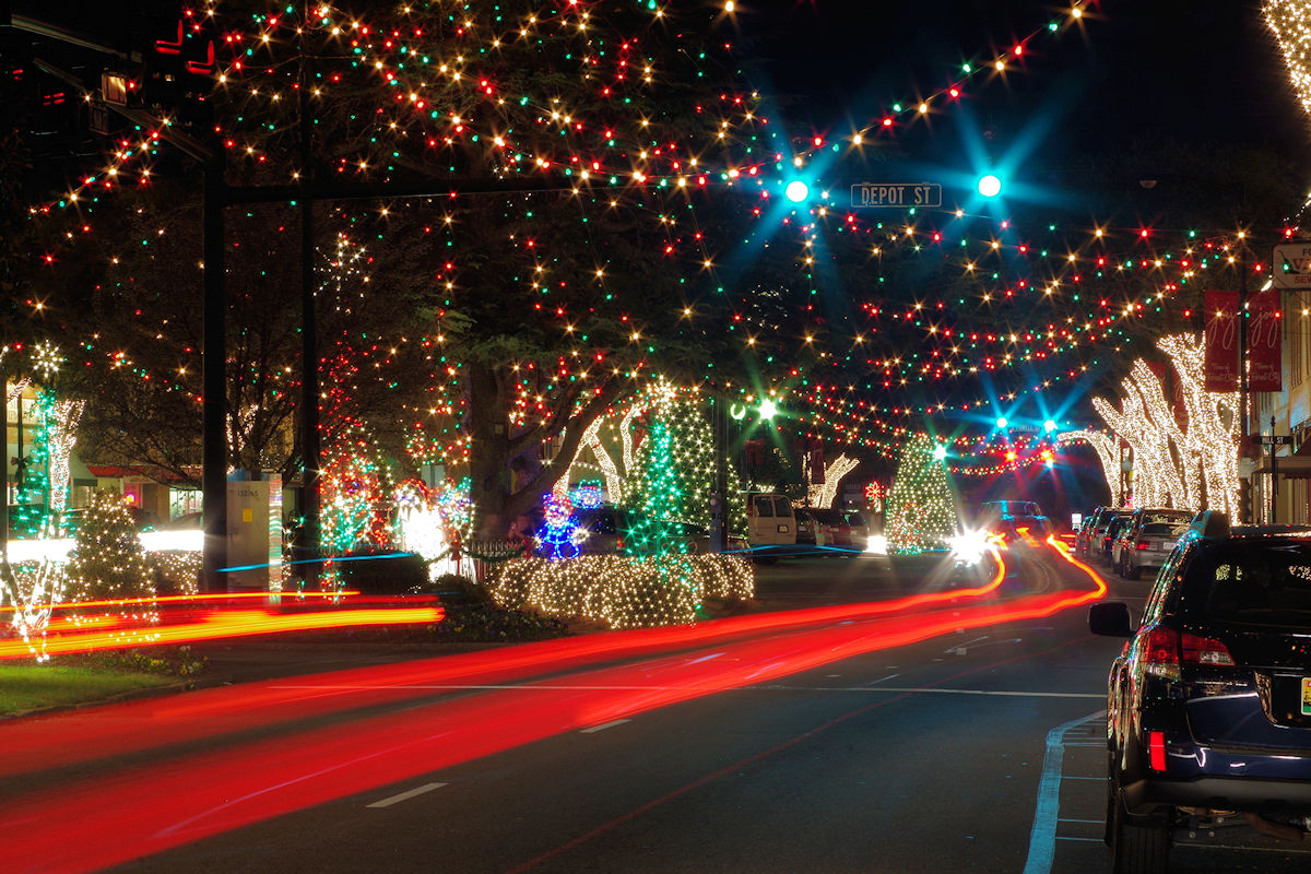 Christmas Lights In Asheville Nc